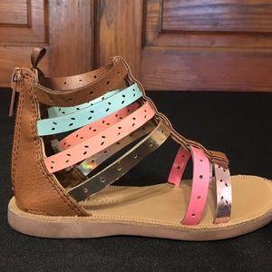 Oshkosh Multicolor Strappy Sandals
